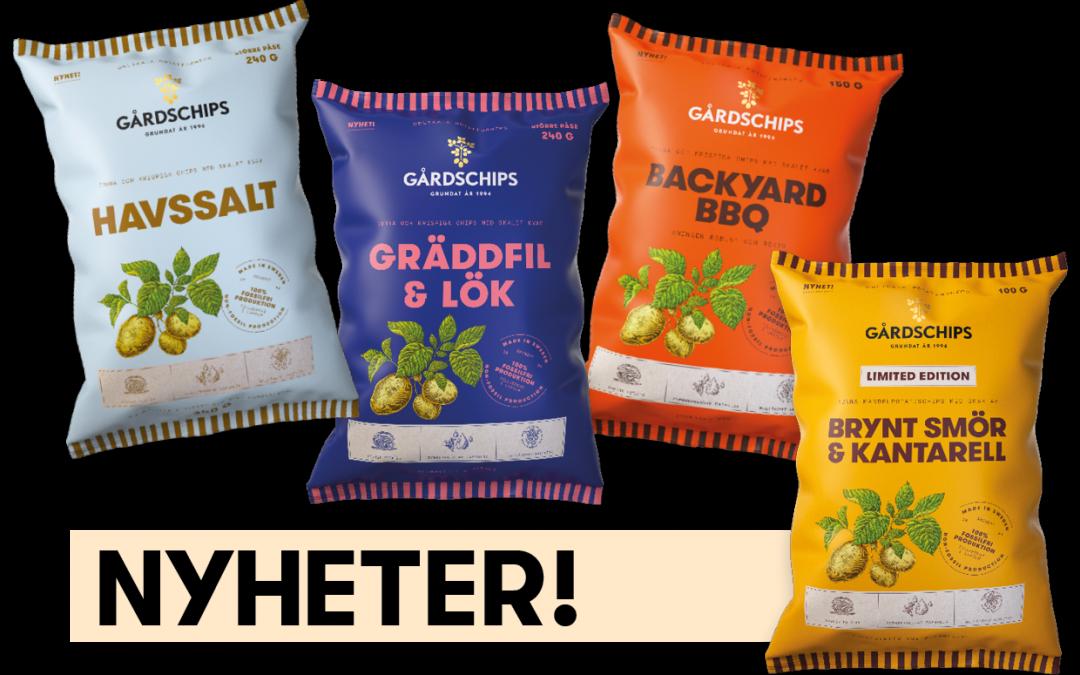 Premium Snacks Nordic: Nytt från Gårdschips som lyfter chipshyllan!